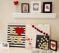 My Valentine Mantel. Black BedroomsGuest BedroomsValentine IdeasRed ...