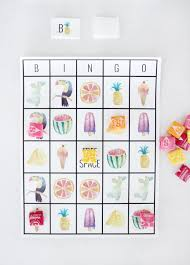 have fun playing this adorable summer bingo it s free to print and perfect for cl
