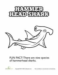 Small Picture 87 best Shark Coloring Pages images on Pinterest Coloring sheets