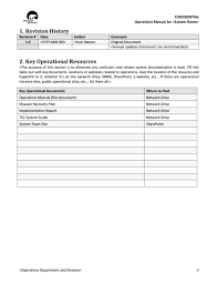 Instruction Manual Template 40 Free Instruction Manual Templates Operation User Manual