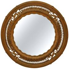 victorian wall mirror wicker round wall mirror for 7 piece victoria wall mirror set