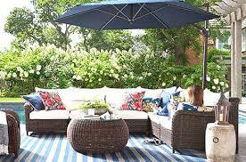 unique outdoor furniture. Unique Design Outdoor Furniture Sets Of Pottery Barn Patio