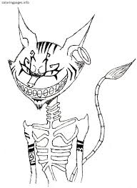 Small Picture CAT Coloring Pages PDF Free coloring pages