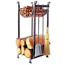 log holder indoor rack firewood outdoor copper fireplace wood bucket on wheels small in