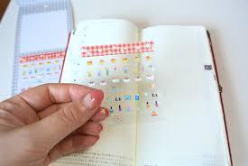 台紙もシールも貼って剥がせる手帳用シールharuharu 毎日
