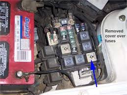 where is fuel pump relay located on a b2300 mazda fixya mazda b2300 electric fuel pump no working