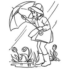 Small Picture Top 10 Free Printable Rain Coloring Pages Online