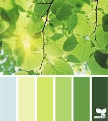 leaf tones (design seeds). Color Palette GreenBedroom ...