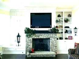 how high to mount a tv mount above fireplace wall mount over fireplace hang how high