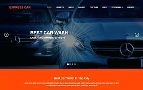 Car Wash Flyer Template Website Free Download Maker App – Poquet