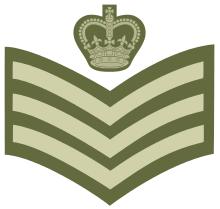 British Rank Insignia Chart Staff Sergeant Wikipedia