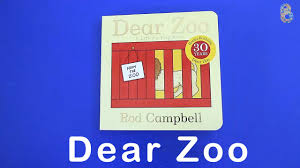 dear zoo book learning s names and sounds for kids with a lift the flap book