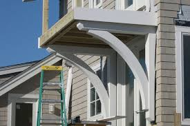 exterior wood brackets. Beautiful Wood Building Structural Brackets For A Balcony Deck  JLC Online Decks Best  Practices Structure Framing Outdoor Rooms Rhode Island In Exterior Wood E
