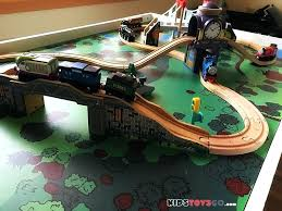tank engine wooden train set play table wooden train set play table brio thomas uk thomas