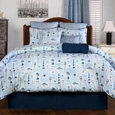 nautical bedding sets blue