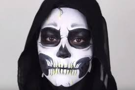 2016 how to apply make up to look like this y skeleton
