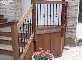 deckorators classic baers deckorators classic baers using aluminum deck railing