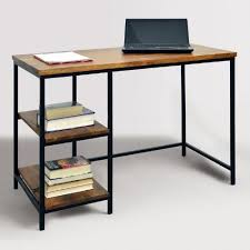 Wood and metal computer desk Legs Discover Ideas About Wood And Metal Table Pinterest The Clean Simple Design Of Our Contemporary Desk Makes It