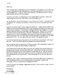 Col Frederick Meiwald S Letter To Robert Salas Oct 1 1996