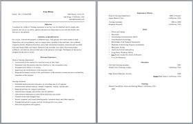 2 Page Resumes Stunning Can Resumes Be 48 Pages Two Page Resume Format Of Final For