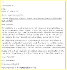 Advertising Proposal Template Word Advertising Proposal Template Word 9 Templates Sample Letter For