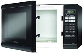 enjoy faster cooking times with 1200 watts high power panasonic nn sn651b countertop microwave with inverter technology 1 2 cu ft