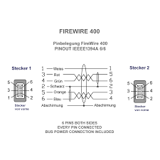 ieee 1394 firewire diagram wiring diagram for you • firewire cable 6 6 black firewire 400 cables adapters firewire 1394 to usb adapter this is