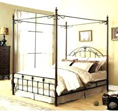 twin size canopy bed frame – multival.info