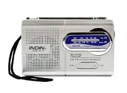 radio for office. Handheld AM/FM Mini Radio \u2013 Portable For Emergencies, Office Desk Survival A