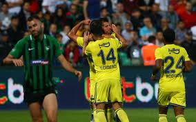 Denizlispor Fenerbahçe maçı golleri ve geniş özeti ...