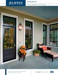 W Jeld Wen Windows Idea Siteline EX And Patio Doors  PDF Catalogues