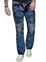 Jeans Dress Designs Eto Mens Designer Funky Blue Denim Jeans