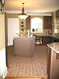creative brick flooring photos floors for kitchens in kitchen split patterns cost save floori via split brick flooring