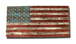 american flag weathered wood one of a kind by on painted wood american flag wall art with american flag wood wall art elitflat