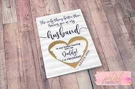 Amazon Com Scratch Off Im Pregnant Pregnancy Reveal Husband Card