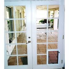 french doors patio patio dog door