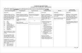 Nursing Care Plan Template How To Plan Nursing Care Plan