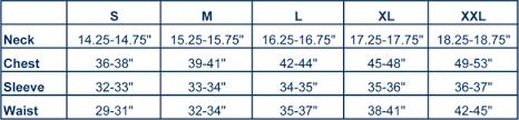 Tommy Bahama Size Chart