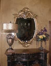 unique foyer tables. Unique Foyer Tables Wall Mounted Brass Mirrored Feat Dark Wood Table And S