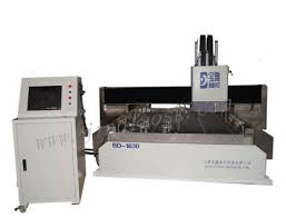 1630 cutting double head stone cnc machine for making kitchen countertops and bathroom countertops