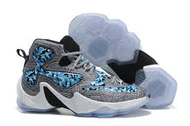 lebron basketball shoes 2017. nike lebron 13 camo grey blue white basketball shoes lebron 2017