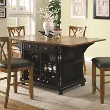 Ashley Furniture Kitchen Island Buy Kitchen Carts Two Tone Kitchen Island With Drop Leaves By