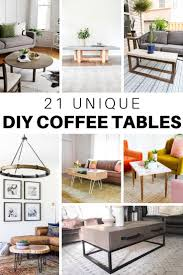 Let us help you build something beautiful! 21 Unique Diy Coffee Tables Ideas And Plans The House Of Wood