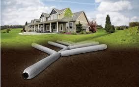 ez drain french drain system gravel