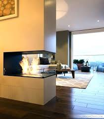two sided gas fireplace 3 sided fireplace two sided fireplace interior designing and home double sided