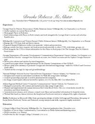 Portfolio For Resume Awesome Résumé Brooks R McAlister Professional Portfolio