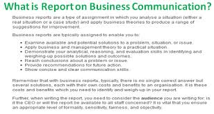 Report Business What Is Report On Business Communication