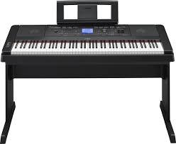 yamaha keyboard 88 keys. yamaha dgx-660 88-key arranger piano with stand - black image 1 keyboard 88 keys 8