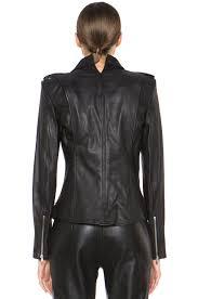 image 5 of theyskens theory nomi jiker leather jacket in black