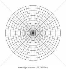 Polar Grid 10 Vector Photo Free Trial Bigstock
